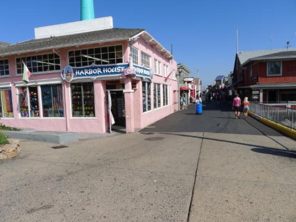 Entrance to the old Fisherman's Wharf