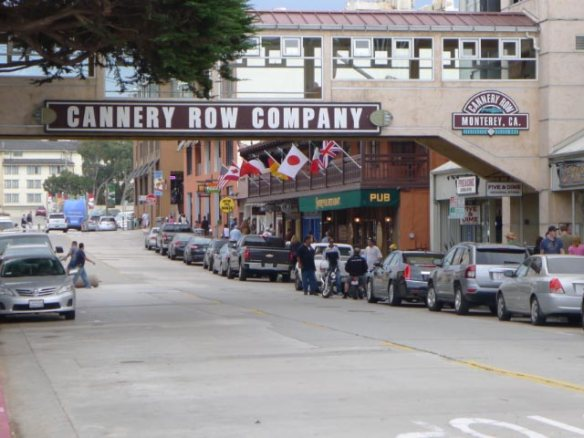 Cannery Row as Steinbeck did not imagine