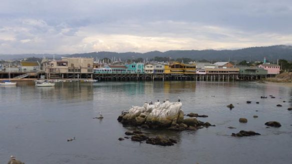 Fisherman's Wharf from the west side. Most restuarant do offer table views this way