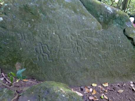 Petroglypshs. We wondered if these predate the tiki carvings or were just grafitti at the time.