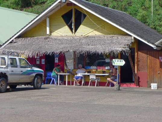 "Nuku Hiva Yacht Services, or just ""Kevin's."""
